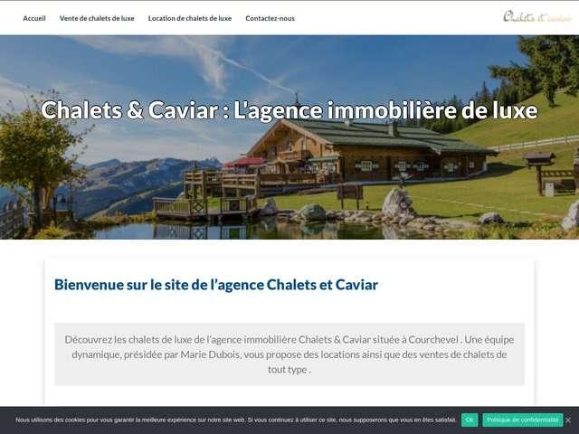 Wordpress Chalets et Caviar